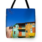 Bright Colors In Buenos Aires Tote Bag