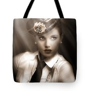 Bright Lights Of Broadway Tote Bag