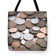 British Coins Sterling Full Frame Tote Bag