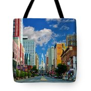 Broad Street - Avenue Of The Arts Tote Bag