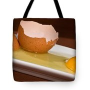 Broken Brown Egg Tote Bag