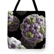 Brome Mosaic Virus Tote Bag