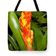 Bromeliad Flower Tote Bag