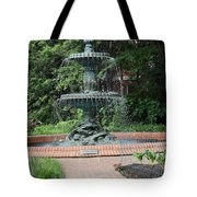 Bronze Fountain Annapolis Tote Bag