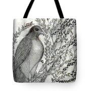 Brother Hawk Tote Bag