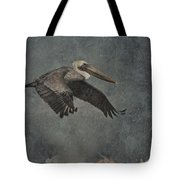 Brown Pelican 2 Tote Bag