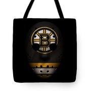 Bruins Jersey Mask Tote Bag