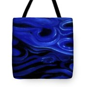 Brush Strokes In Blue Tote Bag