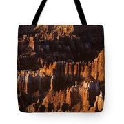 Bryce Canyon National Park Hoodo Monoliths Sunrise Southern Utah Tote Bag