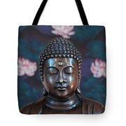 Buddha Statue Denver Tote Bag