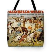 Buffalo Bills Wild West Tote Bag