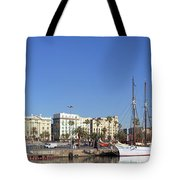 Buildings At The Waterfront, Columbus Tote Bag