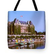 Buildings At The Waterfront, Empress Tote Bag