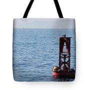 Buoy Sea Lions Tote Bag