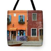 Burano Italy Tote Bag