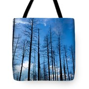 Burnt Pine Trees In A Forest, Grand Tote Bag