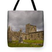 Burrishoole Friary, Ireland Tote Bag