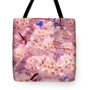 Bursting With Blossoms Tote Bag