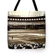 Busch Stadium - St Louis 1966 Tote Bag