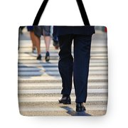 Business People Background Tote Bag