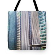 Business Skyscrapers Modern Architecture Tote Bag