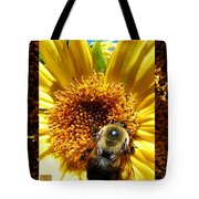 1 Busy Bumble L Tote Bag
