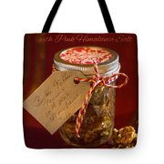 Butter Toffee Pecan Nuts With Himalania Salt Tote Bag