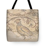 Byzantine Mosaic Depicting Animals And Hunting Scenes. Tote Bag