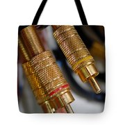 Cables And Wires Tote Bag