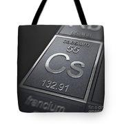 Caesium Chemical Element Tote Bag