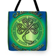 Campbell Ireland To America Tote Bag