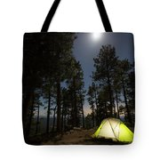 Camping On The Rim Tote Bag