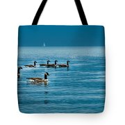 Canadian Geese Tote Bag