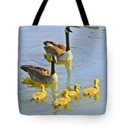 Canadian Goose Family Tote Bag