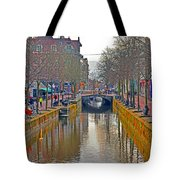 Canal Of Delft Tote Bag