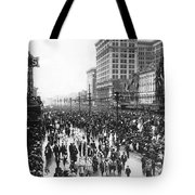Canal Street In New Orleans Tote Bag