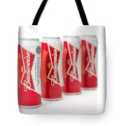 Cans Of Budweiser Beer Tote Bag