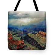 Canyon Clouds Tote Bag