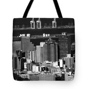 Cape Town Skyline - South Africa Tote Bag