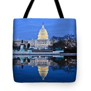 Capitol Reflecting Pool Tote Bag