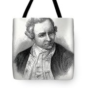 Captain James Cook, British Explorer Tote Bag