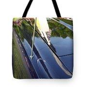 Car Reflection Tote Bag