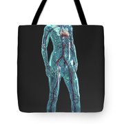 Cardiovascular System Female Tote Bag
