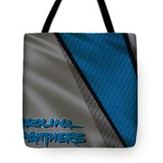 Carolina Panthers Uniform Tote Bag