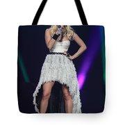Singer Carrie Underwood Tote Bag