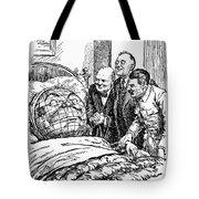 Cartoon: Big Three, 1945 Tote Bag