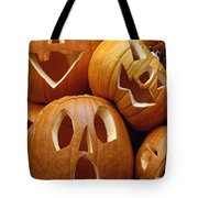 Carved Pumpkins Tote Bag