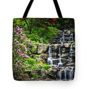 Cascading Waterfall Tote Bag by Elena Elisseeva