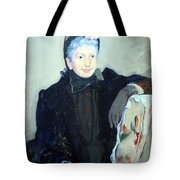 Cassatt's Portrait Of An Elderly Lady Tote Bag