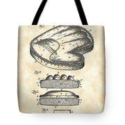 Catcher's Glove Patent 1891 - Vintage Tote Bag
